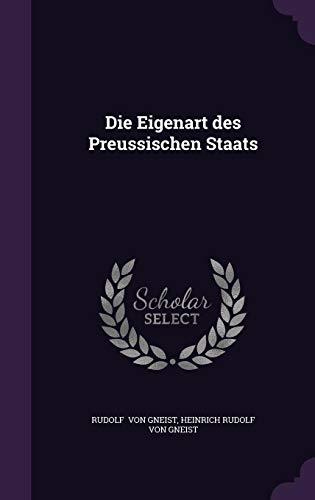 9781356584789: Die Eigenart des Preussischen Staats