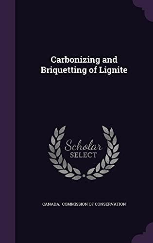 9781356631100: Carbonizing and Briquetting of Lignite