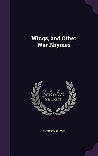 9781356717781: Wings, and Other War Rhymes