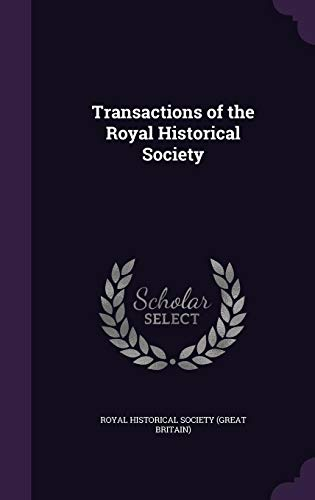 9781356788088: Transactions of the Royal Historical Society