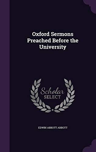 9781356806263: Oxford Sermons Preached Before the University