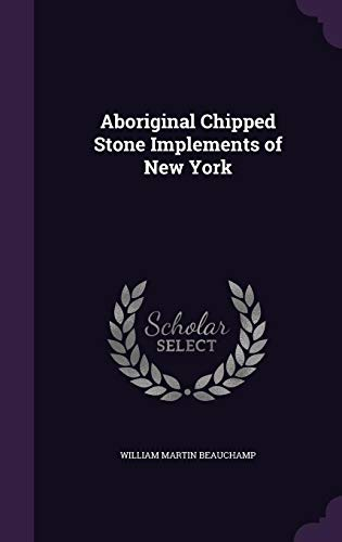 9781356873128: Aboriginal Chipped Stone Implements of New York