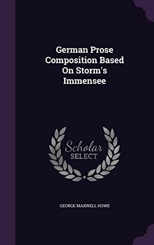 Interpretation von Theodor Storms Immensee (German Edition)