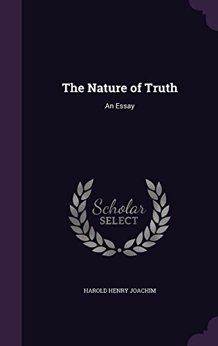 9781357025359: The Nature of Truth: An Essay