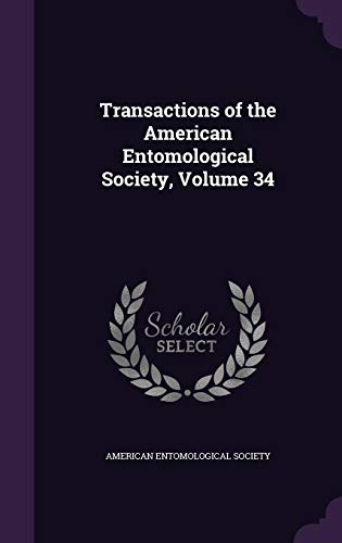 9781357105419: Transactions of the American Entomological Society, Volume 34