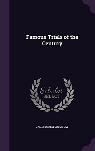 9781357163600: Famous Trials of the Century
