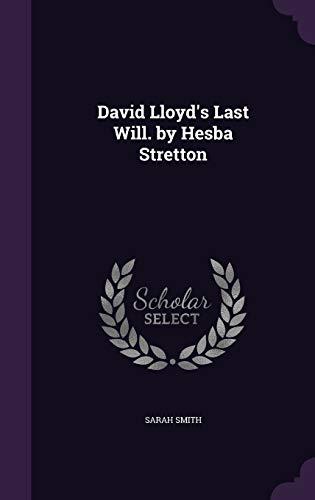 9781357225568: David Lloyd's Last Will. by Hesba Stretton
