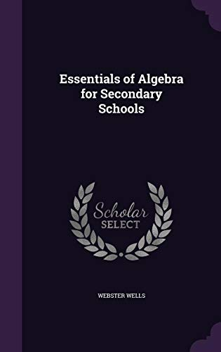 9781357282615: Essentials of Algebra for Secondary Schools