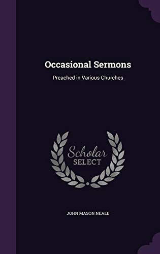 9781357305260: Occasional Sermons: Preached in Various Churches