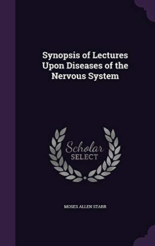 9781357549213: Synopsis of Lectures Upon Diseases of the Nervous System