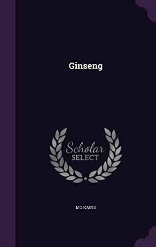 9781357725198: Ginseng