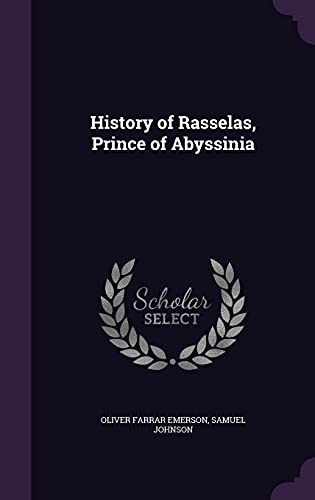 9781357730635: History of Rasselas, Prince of Abyssinia