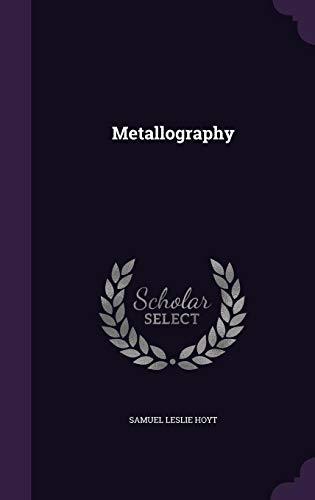 9781358384554: Metallography