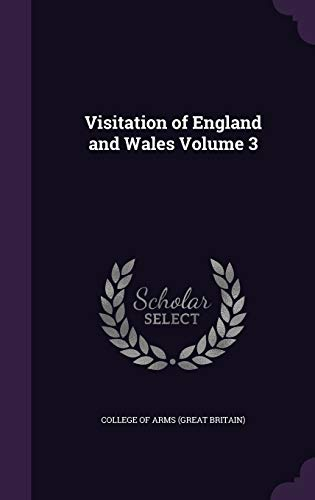 9781359272317: Visitation of England and Wales Volume 3