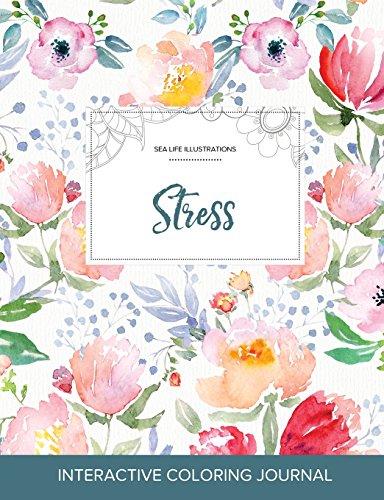 9781359815101: Adult Coloring Journal: Stress (Sea Life Illustrations, La Fleur)