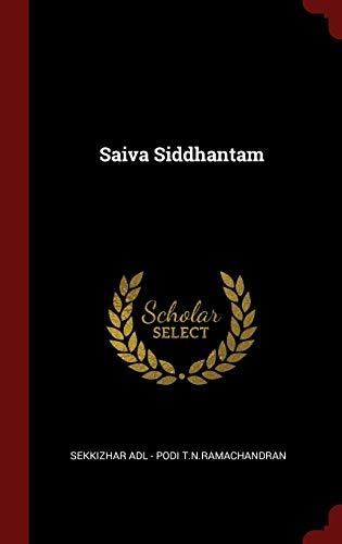 9781359873170: Saiva Siddhantam