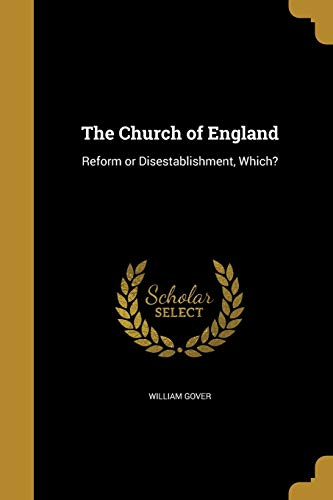 The Church of England (Paperback): William Gover