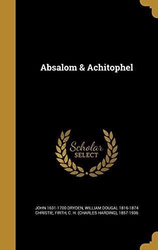 9781360060286: Absalom & Achitophel