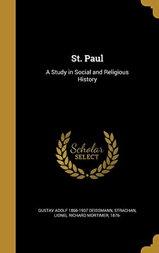 9781360073606: St. Paul: A Study in Social and Religious History