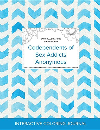 Adult Coloring Journal: Codependents of Sex Addicts: Courtney Wegner