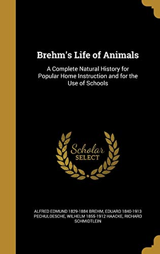 9781361233061: Brehm's Life of Animals: A Complete Natural History for Popular Home Instruction and for the Use of Schools