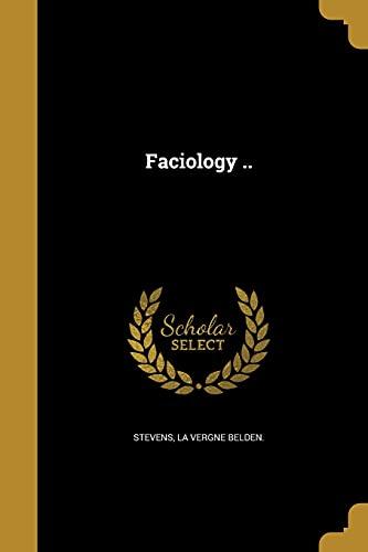 Faciology . (Paperback)