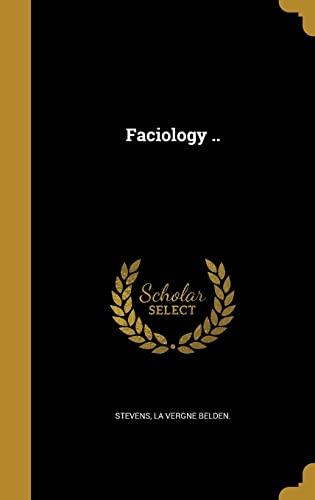 Faciology . (Hardback)