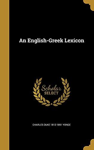 9781362206293: An English-Greek Lexicon