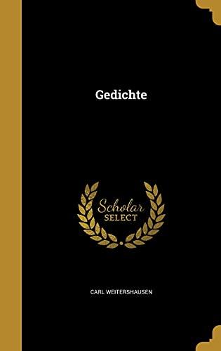 9781362257356: Gedichte (German Edition)