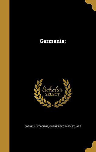 9781362632788: Germania; (Latin Edition)
