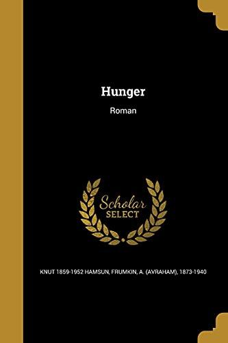 9781362811091: Hunger: Roman (Yiddish Edition)
