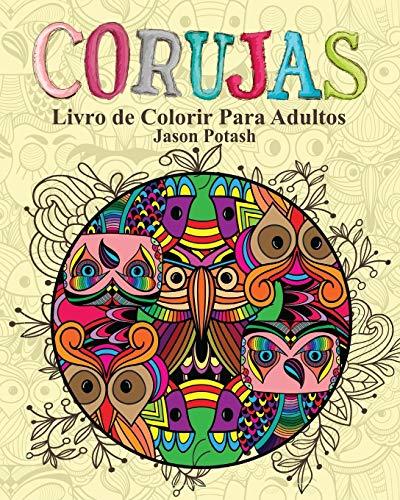 9781364233334: Corujas Livro de Colorir Para Adultos (Portuguese Edition)