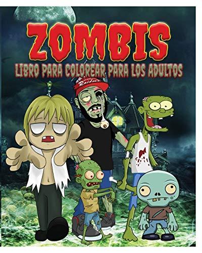 9781364563707: Zombis Libro Para Colorear Para Los Adultos (Spanish Edition)