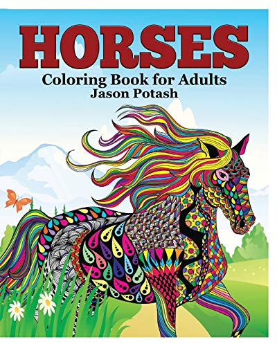 9781364576837: Horses Coloring Book for Adults