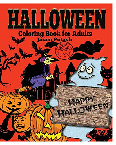 9781364585860: Halloween Coloring Book for Adults