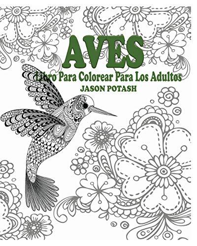 9781364600648: Aves Libro Para Colorear Para Los Adultos