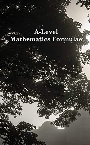 9781364612283: A-Level Mathematics Formulae (Black and White)