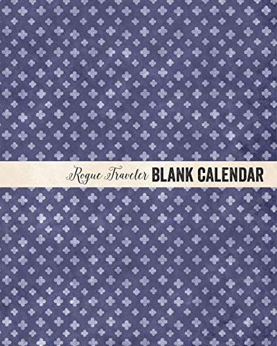 9781364820909: Rogue Traveler Blank Month Planner Pages