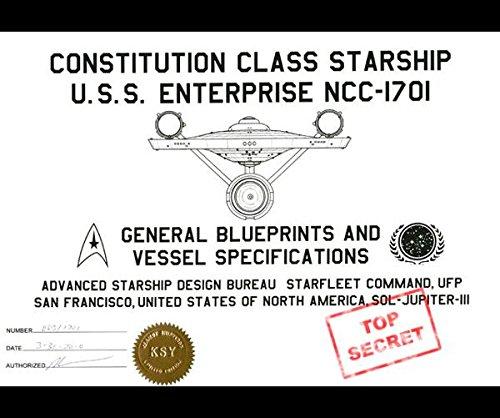 9781364879143: Constitution Class Starship U.S.S. Enterprise NCC-1701