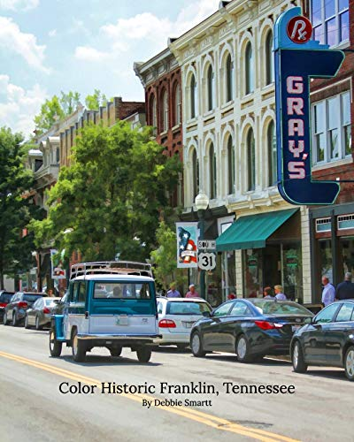 9781364969288: Color Historic Franklin, Tennessee