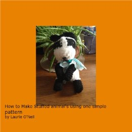 9781367899223: How to make stuffed animals using one simple pattern