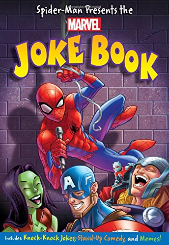 Spider-Man Presents the Marvel Joke Book (Paperback)