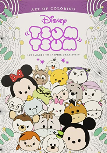 9781368000765: Art of Coloring: Tsum Tsum: 100 Images to Inspire Creativity