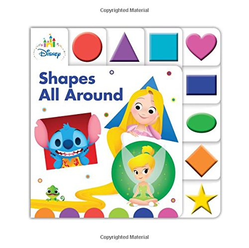 9781368000796: Disney Baby Shapes All Around