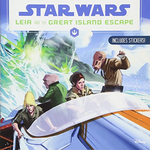 9781368002400: Star Wars Leia and the Great Island Escape