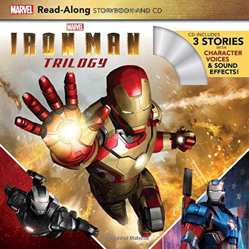 Iron Man Trilogy Read-Along Storybook and CD: Marvel Press Book Group