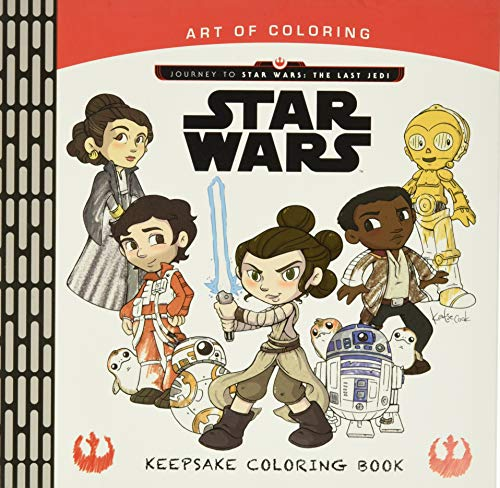 Art of Coloring Journey to Star Wars: Disney Book Group;