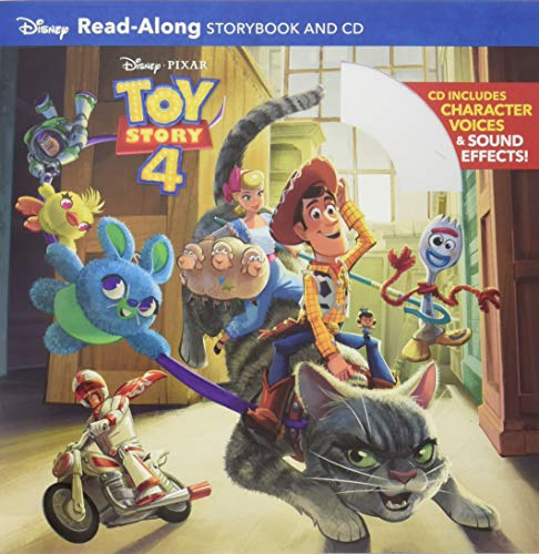 9781368042819: Toy Story 4 Read-Along Storybook and CD