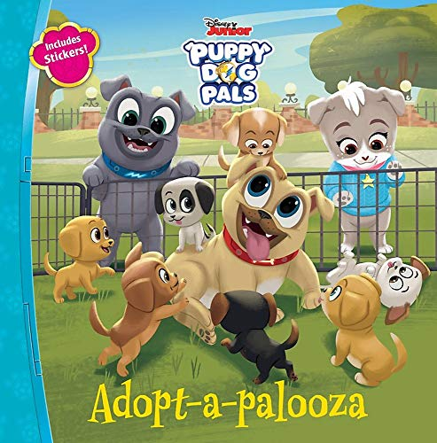 Puppy Dog Pals Adopt-a-palooza: Disney Book Group