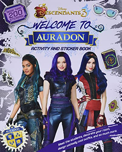 9781368049559: Welcome to Auradon: A Descendants 3 Sticker and Activity Book
